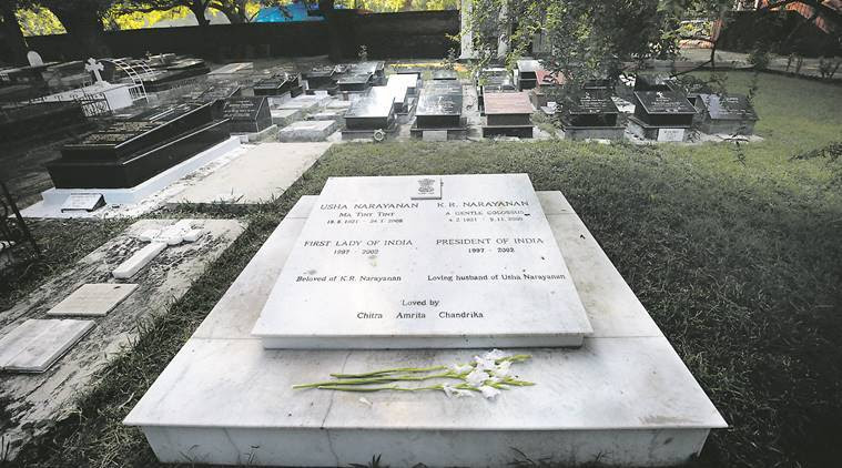 Image result for kr narayanan grave