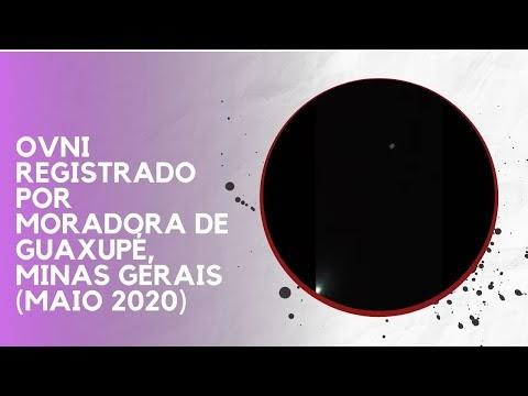 OVNI REGISTRADO POR MORADORA DE GUAXUPÉ, MINAS GERAIS