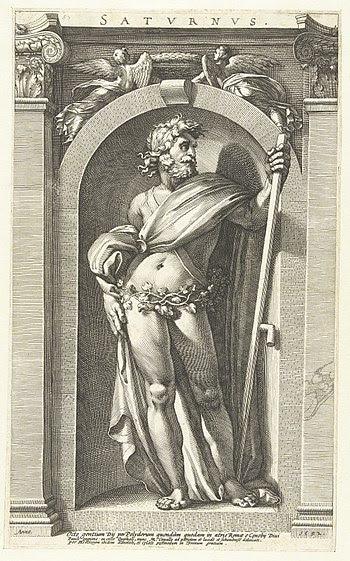 Saturnus, Caravaggio, 16th c.