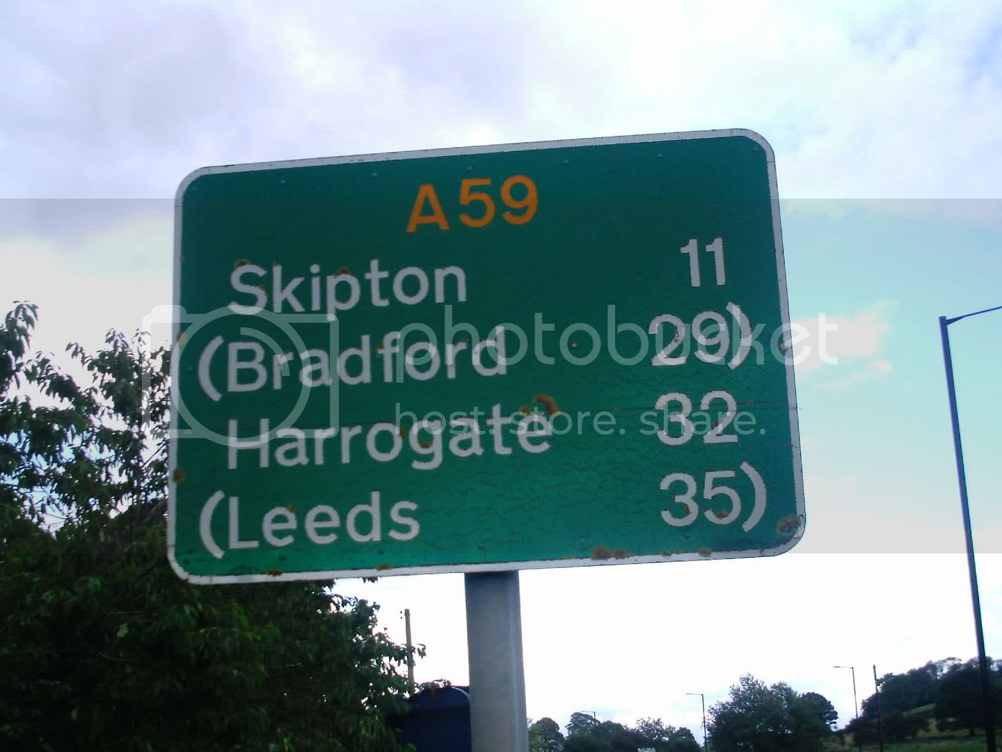 taken when I Got back to Gisburn, not sure how far it is from Gisburn to site…