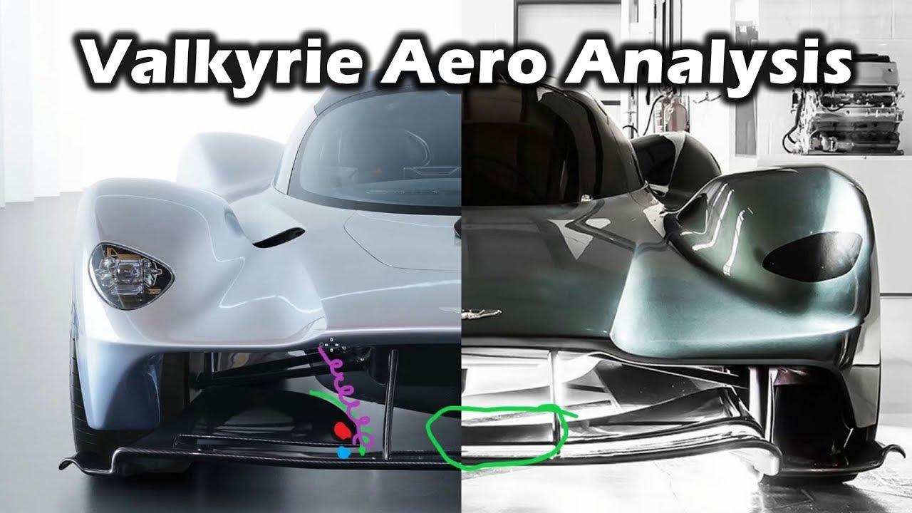 Aston Martin Valkyrie Aero Update Analysis And Comparison Fastcarauto Com