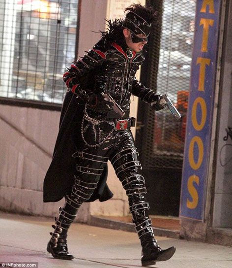 The Mother F*cker, formerly known as Red Mist (Christopher Mintz-Plasse), prepares to wreak havoc in KICK-ASS 2.