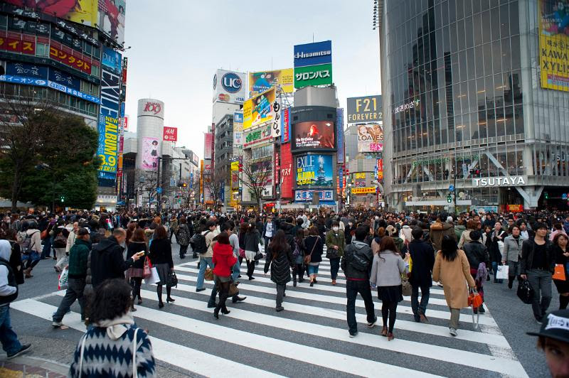 shibuya crossroads by photoeverywhere.co.uk