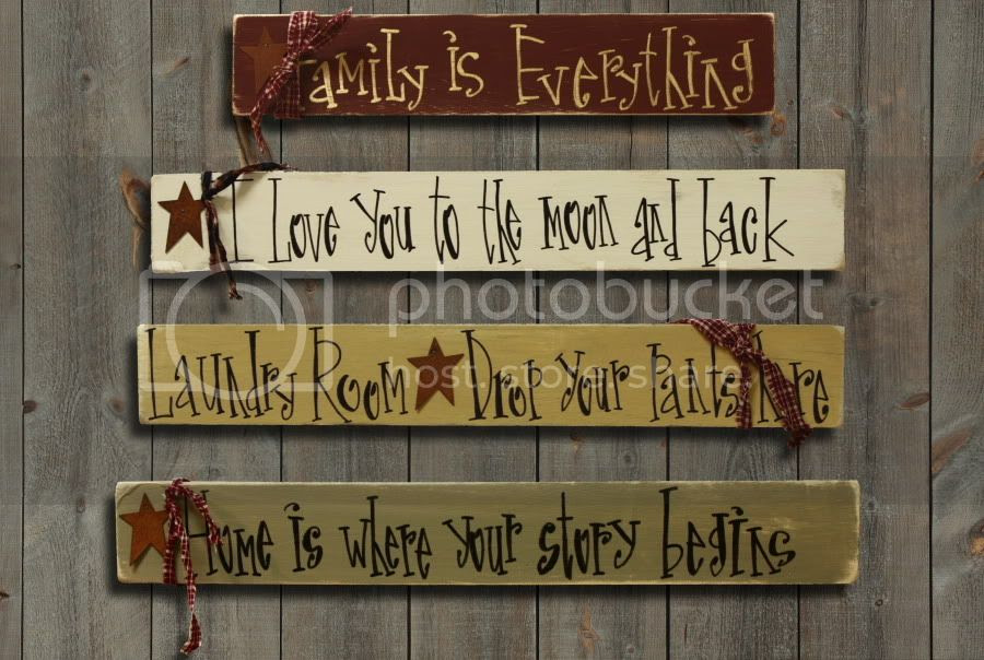 sayings Saying rustic OOAK Gift eBay  wood Wood  Sign Primitive Your with Custom Rustic signs