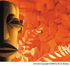 """Sound of Tiki"" CD Artwork by Kevin Kidney, 2008"