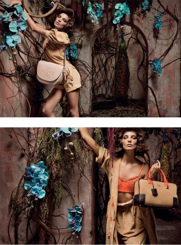 Loewe Spring/10 campaign by Daria Werbowy