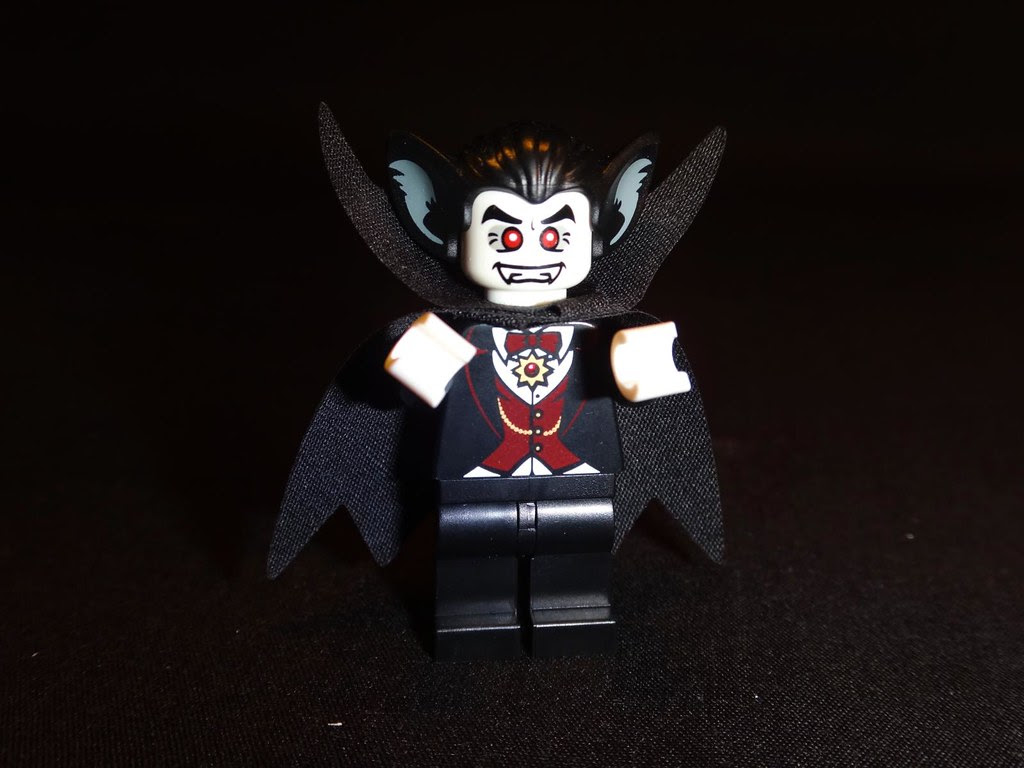 LEGO vampire with manbat ears