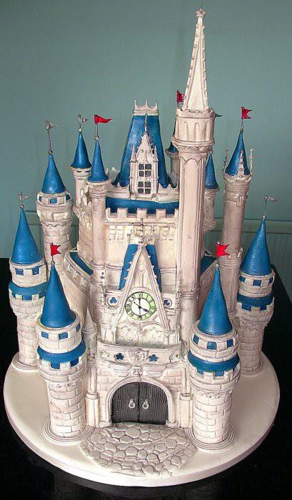 15. Сказочный замок произведение, торт