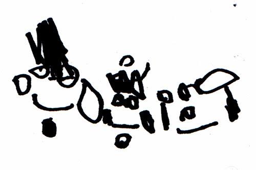 Ava Thursday: Early drawings 2