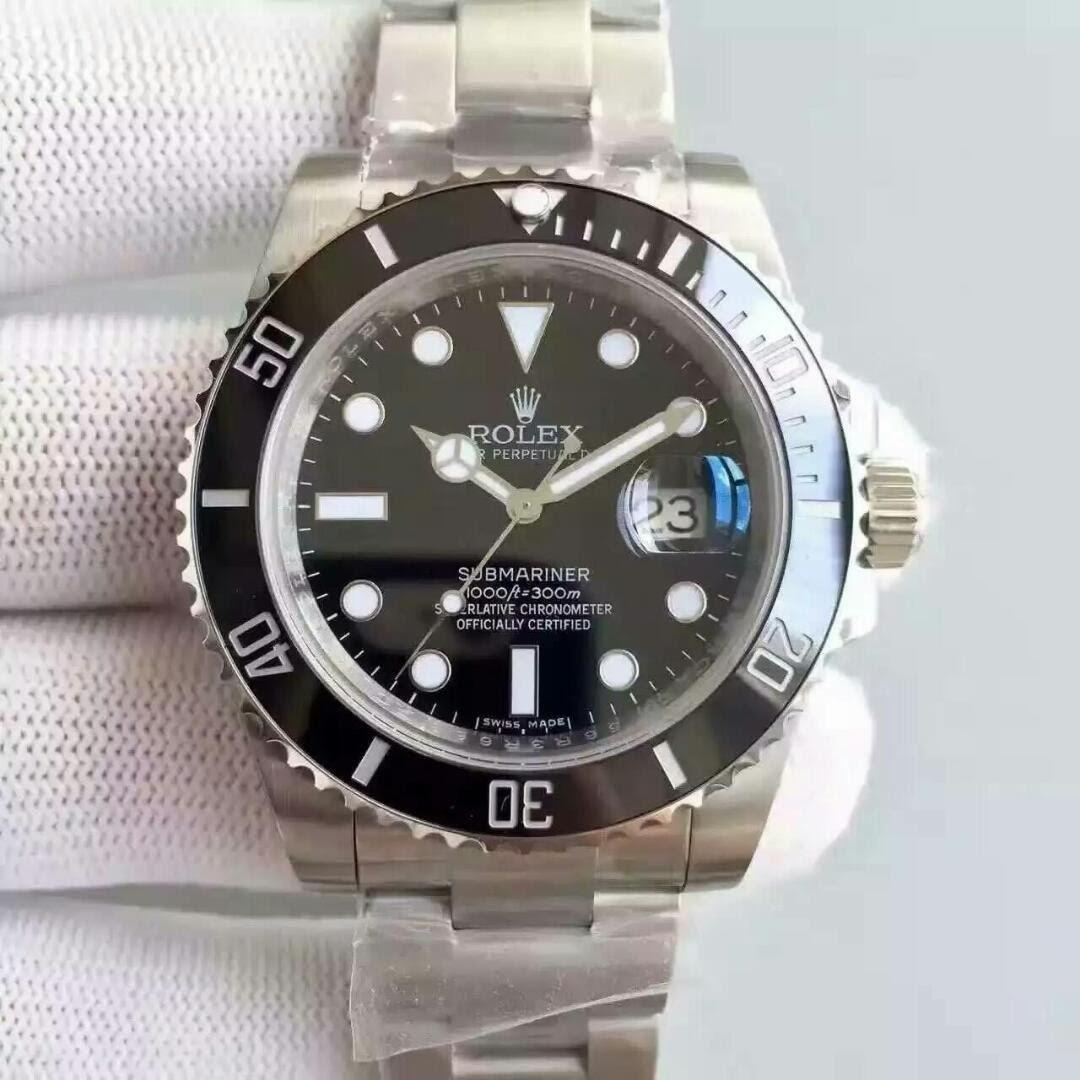 Best Rolex Black Submariner 116610LN Replica