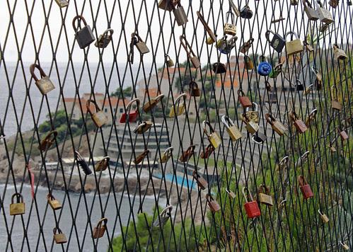 Dubrovnik Love Locks by TonyKRO