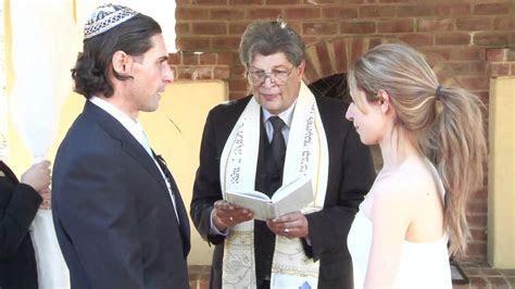 Jewish Wedding Ceremony   YouTube