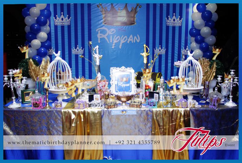 Royal King Boy Birthday Party Theme Ideas In Pakistan