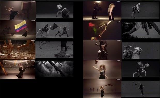 Músico francês insinua plágio em cenas de vídeo de Shakira; compare