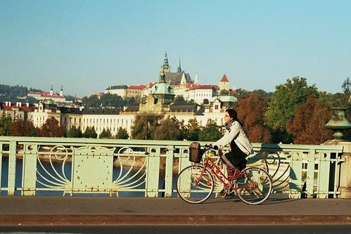 Čechův most by praguecyclechic