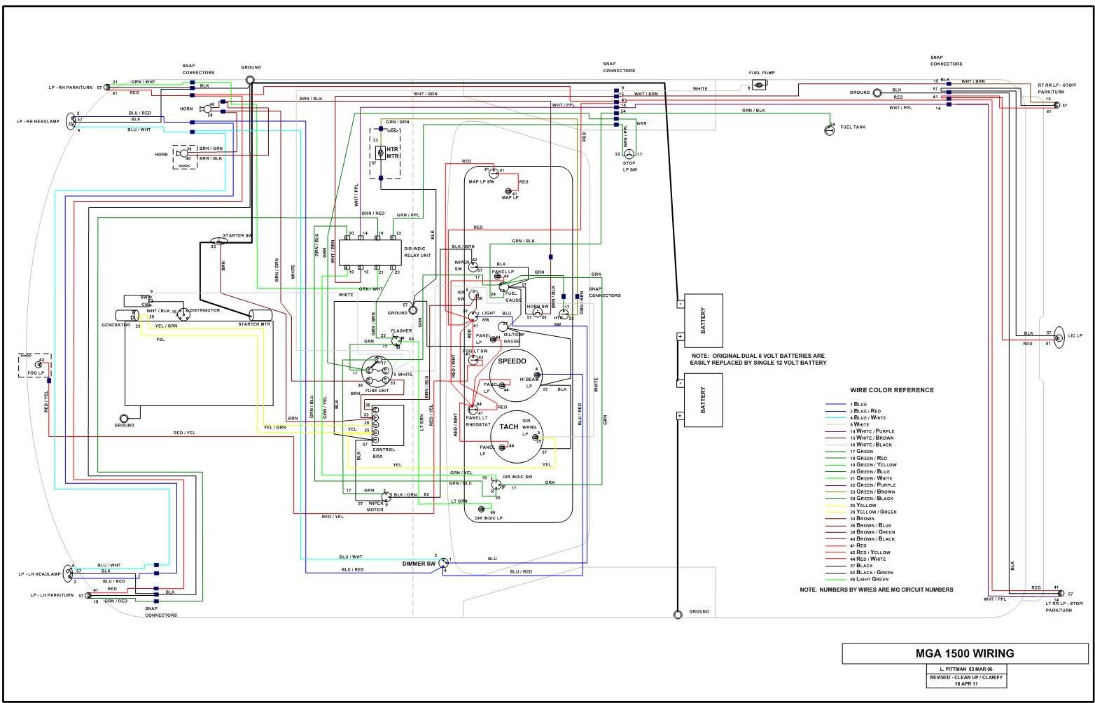 Diagram Moss Motors Mga Wiring Diagram Full Version Hd Quality Wiring Diagram Sgdiagram18 Japanfest It