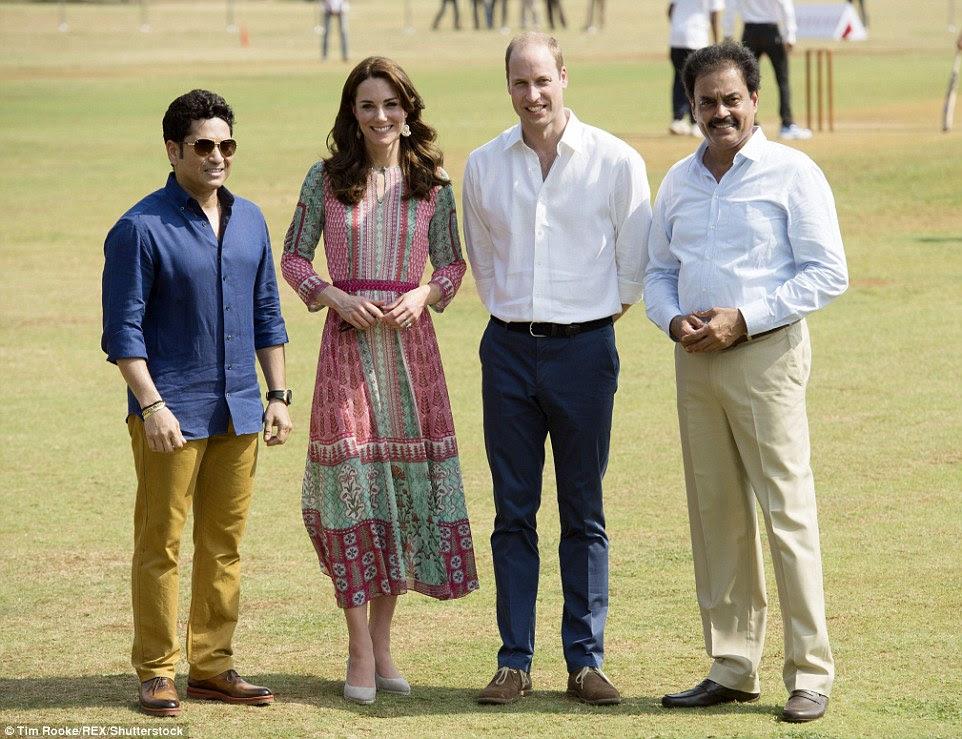 Royal Tour księcia i księżnej Cambridge: Indie i Bhutan + więcej.