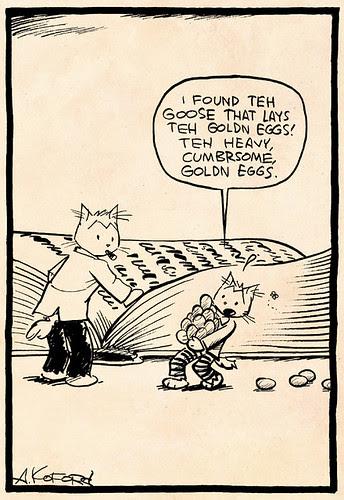 Laugh-Out-Loud Cats #2362 by Ape Lad