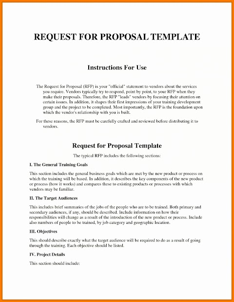 26+ What Is Request Of Proposal