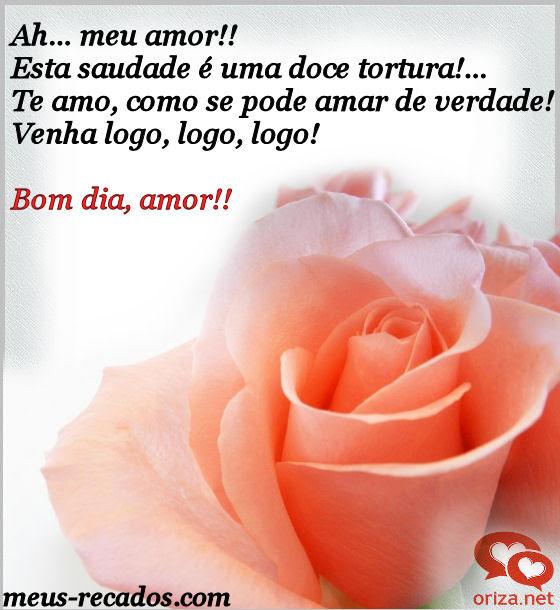 Frasesamor Frases De Bom Dia Meu Amor Saudades