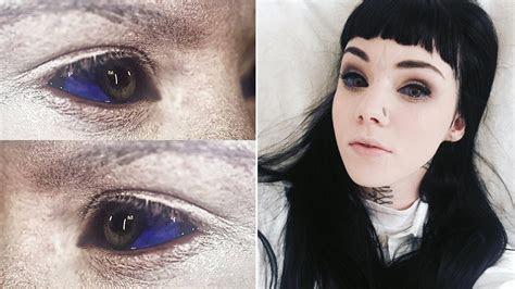 risks eye tattoos body modification