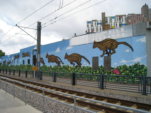 Broken Crow mural