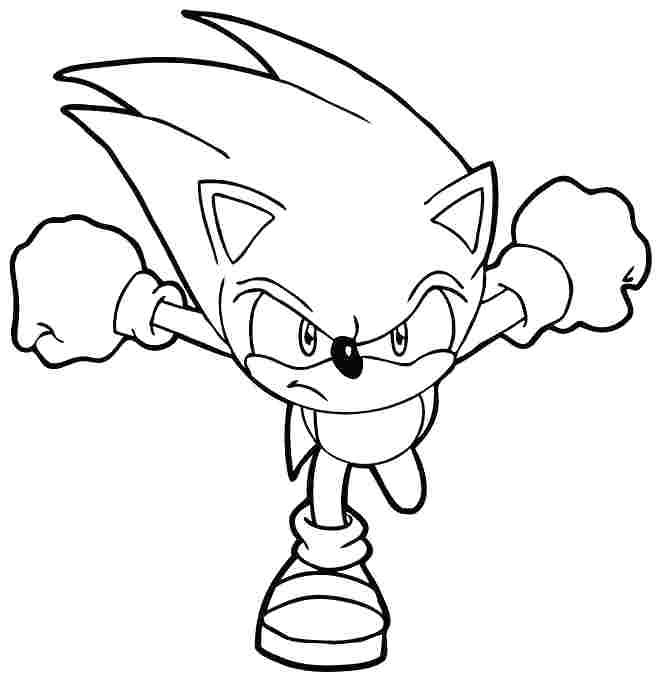 Baby Sonic Coloring Pages at GetColorings.com   Free ...