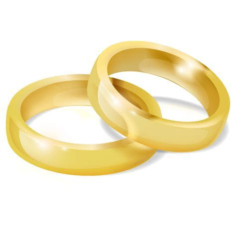 Wedding Rings Icon   Free Large Love Iconset   Aha Soft