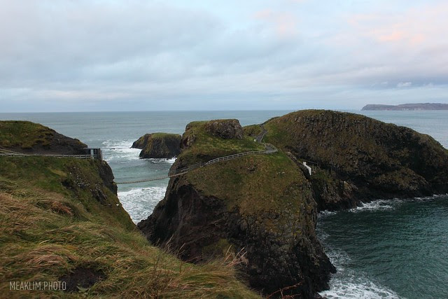 Carrick-a-Rede Rope Bridge, Antrim Coast
