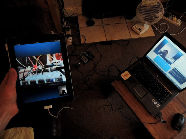 Twitr Janus  remote communication with Arduino board