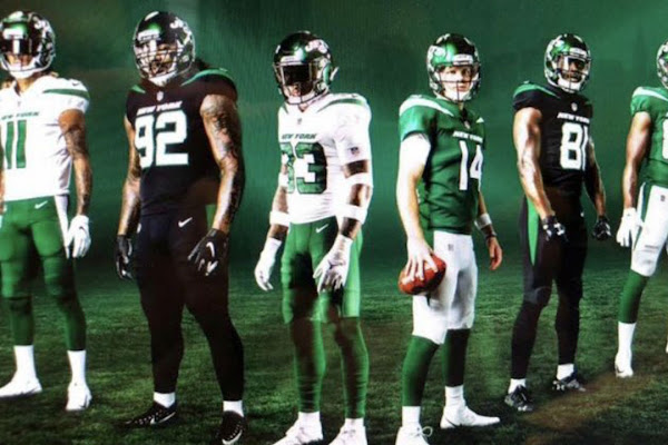 3d24c3708 Google News - New York Jets unveil new uniforms and logo - Overview