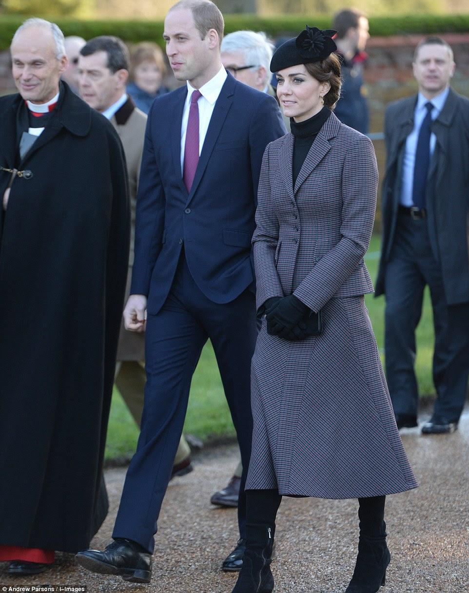 Aktualizacja: Rodzina Królewska na Mszy Św. w Sandringham.