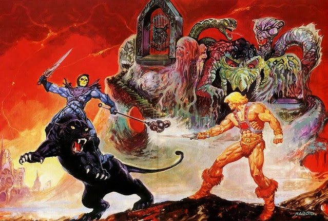 Masters Of The Universe - 26 (painting by Esteban Maroto)