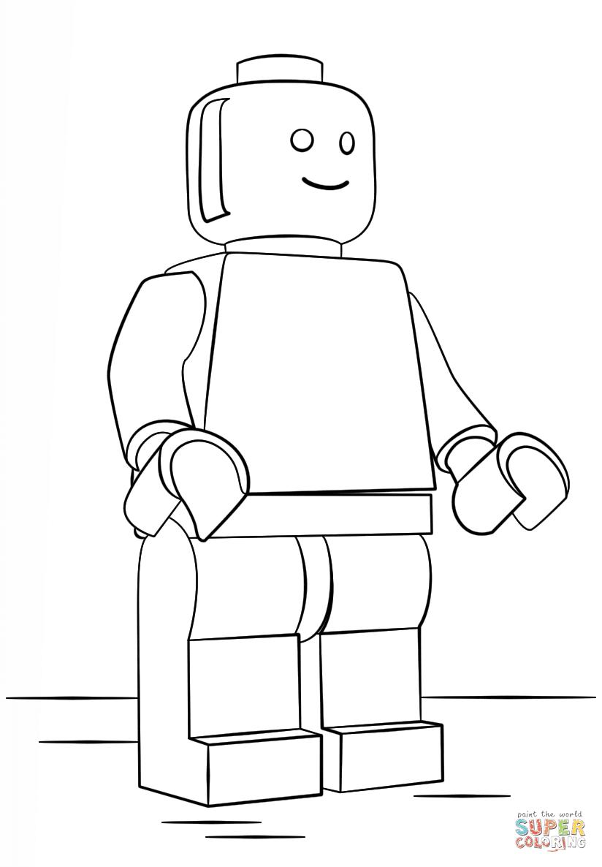 Disegni Da Colorare Omini Lego Migliori Pagine Da Colorare Gratis