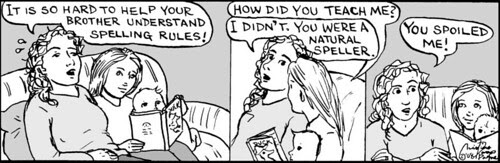 Home Spun comic strip #280