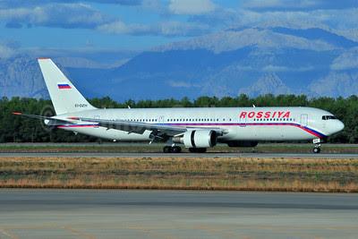 Rossiya Russian Airlines Boeing 767-3Q8 ER EI-DZH (msn 29390) AYT (Ton Jochems). Image: 903471.