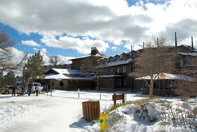 El Tovar Hotel at the South Rim of the Grand Canyon