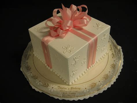 Square ?Package? Cakes « Taylor's Bakery