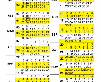 Faa 2021 Payroll Calendar | Printable March