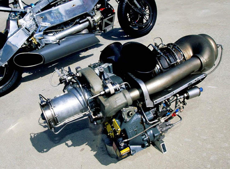 Turbo Motorcycle Eng