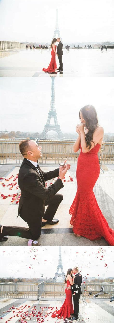Daniella and David's Paris Proposal on HowTheyAsked.com!