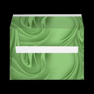 curls, green, artwork,digital artwork, envelope