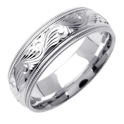 Mens Platinum Wedding Bands Comfort Fit   Wedding and