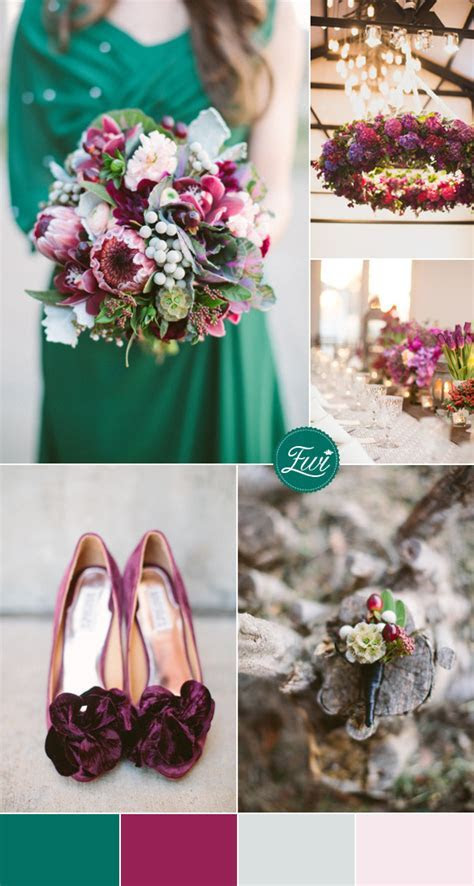 5 Adorable Jewel toned Wedding Color Ideas For 2015