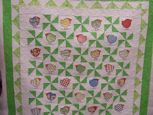St. Pat's Chick quilt