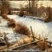 Gentle Winter - Textured