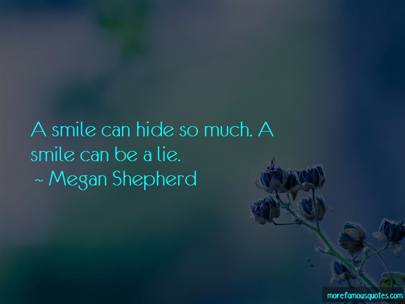 A Smile Can Hide Quotes Top 13 Quotes About A Smile Can Hide From