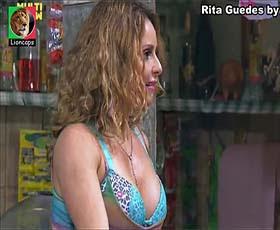 Rita Guedes sensual na serie To Graça