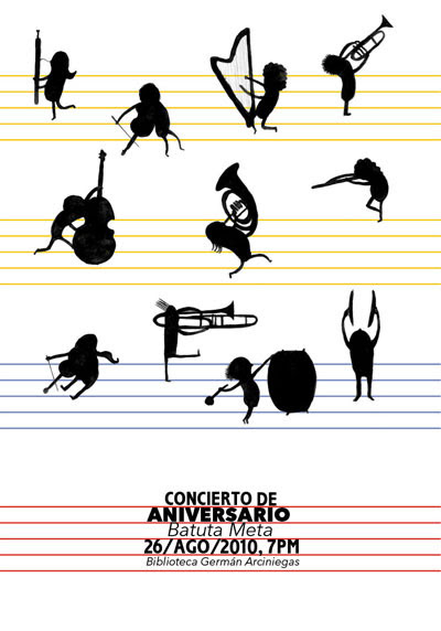 Cartel para Batuta Meta, 2010