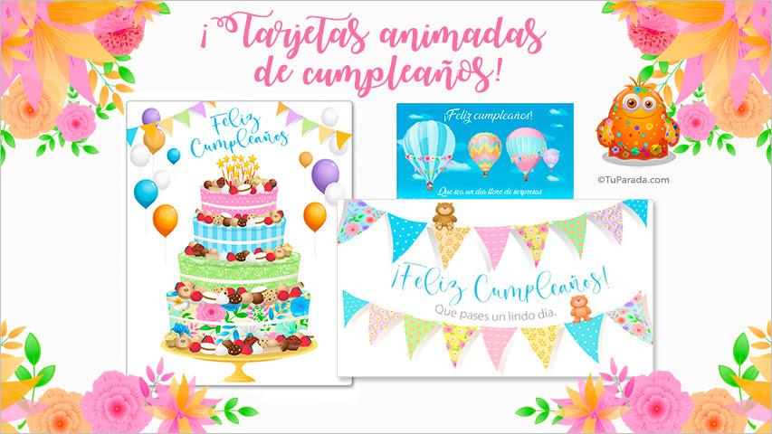 Tarjetas De Cumpleaños Tu Parada Gratis